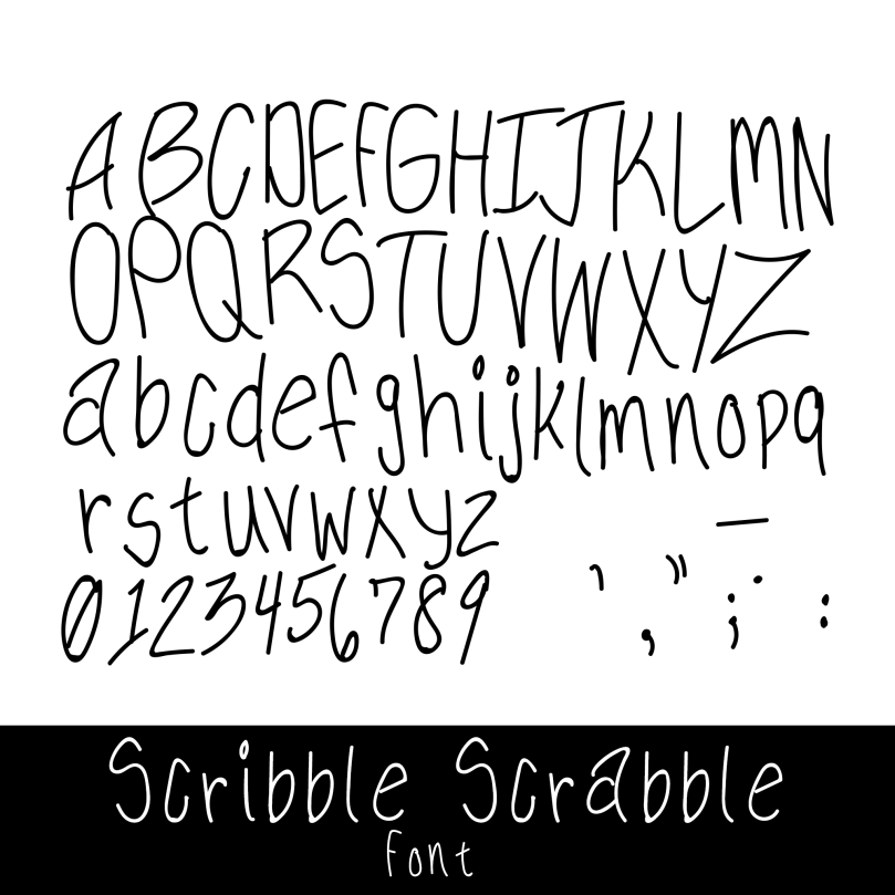 scribble-scrabble
